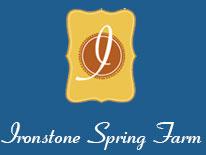 Ironstone Spring Farm site logo