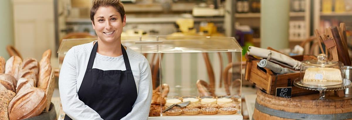Female entrepreneur needs business owners insurance