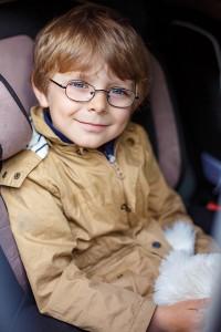 Future auto insurance customer riding in car in PA