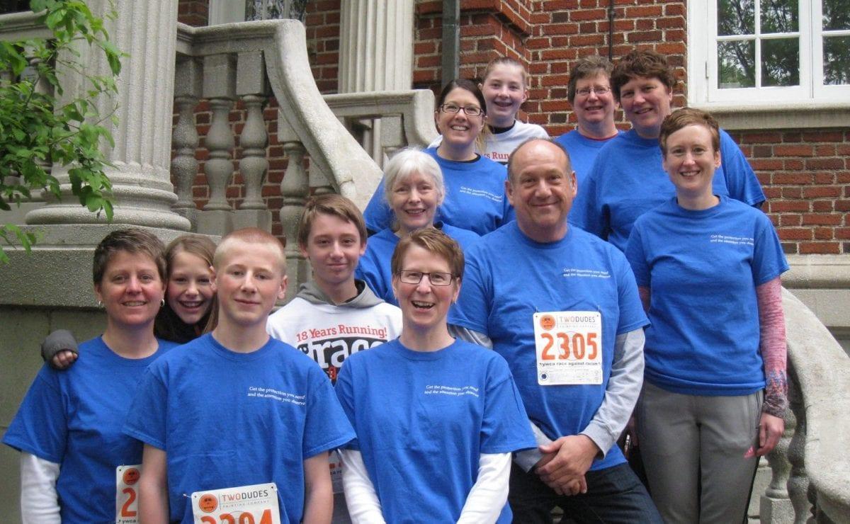 YMCA Race Against Racism participants